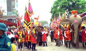 Xã Đào Xá tổ chức lễ hội rước voi truyền thống năm 2019