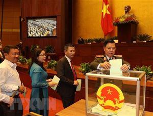 Kỳ họp thứ 11 ngày 1/4: Tiến hành bầu một số Phó Chủ tịch Quốc hội