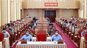 Hội nghị trực tuyến tiếp xúc cử tri của người ứng cử Đại biểu Quốc hội khoá XV, nhiệm kỳ 2021-2026