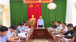 Ban KT-XH HĐND huyện giám sát thực hiện các chương trình đầu tư, phát triển SXNN trên địa bàn giai đoạn 2016-2020