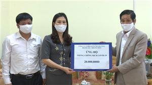 Công ty TNHH Xây dựng Thương mại Thành Công ủng hộ 20 triệu đồng phòng, chống dịch Covid-19