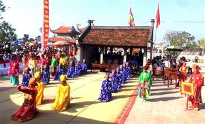 Lễ cáo tế Lễ hội Đền Lăng Sương