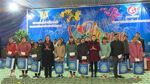 """Liên đoàn Lao động huyện tổ chức Chương trình """"Tết sum vầy"""" xuân Canh Tý 2020"""
