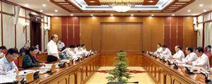 Bộ Chính trị duyệt nội dung văn kiện, nhân sự Đại hội Đảng bộ tỉnh nhiệm kỳ 2020- 2025