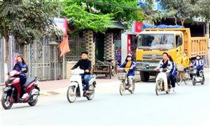 Mất an toàn khi tham gia giao thông trong lứa tuổi học sinh