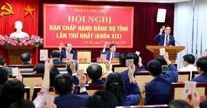 Ban Chấp hành Đảng bộ tỉnh khóa XIX họp phiên thứ Nhất