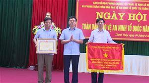 Thị trấn Thanh Thủy tổ chức Ngày hội toàn dân bảo vệ an ninh Tổ quốc