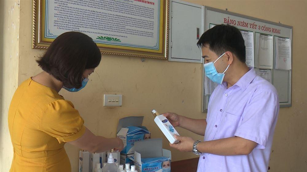 Trường THPT Thanh Thủy chủ động phòng, chống dịch Covid- 19 trong kỳ thi tốt nghiệp THPT