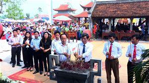 Lễ hội truyền thống Đền Lăng Sương năm 2019