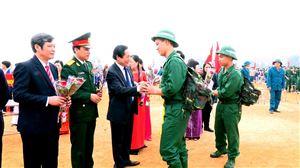 Thanh Thủy tổ chức lễ giao nhận quân năm 2019