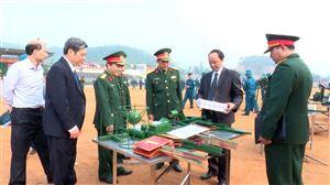 Thanh Thủy ra quân huấn luyện năm 2019