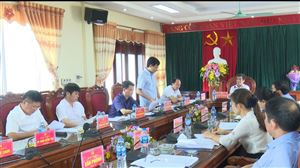 Huyện ủy Thanh Thủy tổ chức hội nghị Ban Thường vụ tháng 5/2019