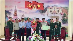 Lãnh đạo UBND huyện thăm, chúc Tết Công an huyện và Ban Chỉ huy quân sự huyện