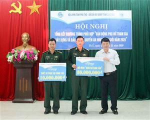 Hội LHPN huyện Thanh Thuỷ thăm Đồn Biên phòng Pa Ủ - Lai Châu