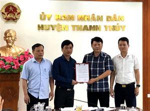 UBND huyện Thanh Thủy tổ chức hội nghị giao ban tháng 5.2020