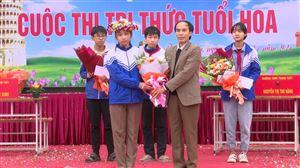 """Trường THCS Thanh Thuỷ tổ chức cuộc thi """"Tri thức tuổi hoa"""""""