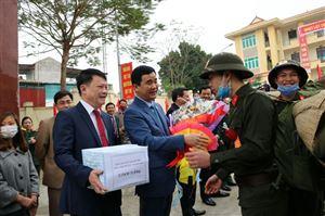 Thanh Thủy tổ chức lễ giao nhận quân năm 2020