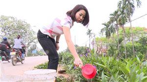 Hội LHPN huyện ra quân  trồng cây chào mừng Đại hội đại biểu Hội LHPN huyện lần thứ XXVI