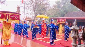 Lễ giỗ Thánh Mẫu Đình La Phù thị trấn Thanh Thủy