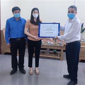 Hội Phật giáo huyện Thanh Thủy ủng hộ 20 triệu đồng cho công tác phòng, chống dịch Covid 19
