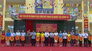 Khai mạc giải thi đấu bóng chuyền hơi nữ ngành giáo dục tại huyện Thanh Thuỷ