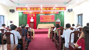 Đài Truyền thanh - Truyền hình huyện Thanh Thủy tổ chức hội nghị sơ kết công tác 6 tháng đầu năm 2020
