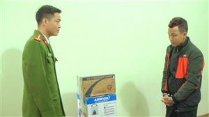Công an huyện Thanh Thủy bắt giữ đối tượng vận chuyển, tàng trữ pháo nổ trái phép