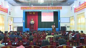 Hội nghị triển khai kế hoạch Đại hội Đảng bộ huyện lần thứ XXVI nhiệm kỳ 2020 - 2025