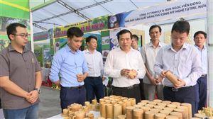 Thanh Thủy tham gia 11 gian hàng tại Hội chợ quảng bá, kết nối giao thương sản phẩm Ocop và nông sản tỉnh Phú Thọ