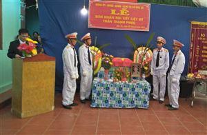 Xã Đào Xá tổ chức lễ đón nhận và an táng hài cốt liệt sỹ