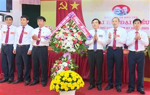 Đại hội Đại biểu Đảng bộ xã Bảo Yên lần thứ XXVII, nhiệm kỳ 2020 - 2025