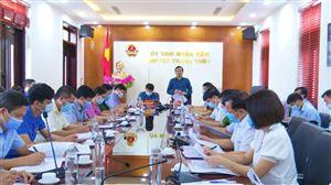 Thanh Thủy tổ chức họp giao ban trực tuyến tháng 8/2021