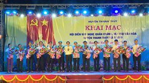Thanh Thủy : Khai mạc hội diễn văn nghệ quần chúng, Hội trại văn hóa năm 2019
