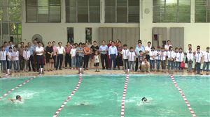 Thanh Thủy: Phát động toàn dân tập luyện môn bơi, phòng chống đuối nước năm 2019