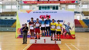 Thanh Thủy đạt thành tích cao tại Giải vô địch bóng bàn, cầu lông tỉnh Phú Thọ năm 2019