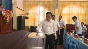 Huyện ủy Thanh Thủy tổ chức Hội nghị giới thiệu nhân sự