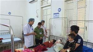 Thanh Thủy nhiệt độ giảm sâu số lượng bệnh nhân nhập viện tăng cao