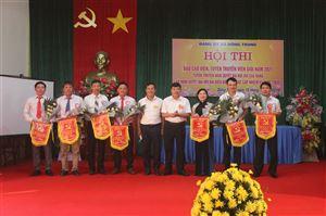 Đồng Trung tổ chức Hội thi báo cáo viên - tuyên truyền viên giỏi năm 2021