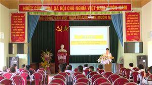 Hội Nông dân huyện Thanh Thuỷ chuyển giao kỹ thuật nuôi ốc nhồi