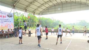 Hội Nông dân  xã Yến Mao khai mạc giải bóng chuyền hơi nam năm 2019
