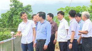 Tổ Đại biểu HĐND tỉnh khu vực Thanh Thủy giám sát công tác duy trì và nâng cao chất lượng các tiêu chí NTM