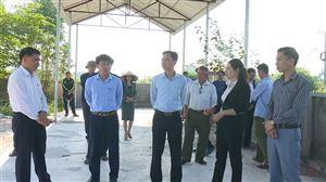 Hội Nông dân tỉnh Phú Thọ nghiệm thu mô hình thu gom phân loại, xử lý rác  thải sinh hoạt và xử lý rác thải tại xã Tu Vũ