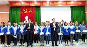 UBND huyện Thanh Thủy gặp mặt đội tuyển học sinh giỏi lớp 9 chuẩn bị tham dự kỳ thi học sinh giỏi cấp tỉnh năm học 2018-2019