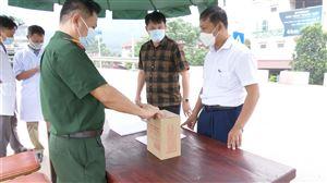 Thanh Thuỷ kích hoạt chốt kiểm soát dịch Covid-19 tại cầu Đồng Quang