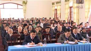 Đảng bộ xã Đồng Trung tổ chức Hội nghị tổng kết công tác Đảng năm 2020; phương hướng nhiệm vụ năm 2021