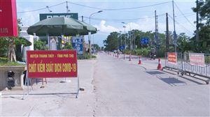 Tăng cường kiểm soát phòng, chống dịch Covid 19 tại chốt kiểm soát cầu Đồng Quang