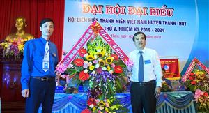 Đại hội đại biểu Hội Liên hiệp thanh niên Việt Nam huyện Thanh Thủy lần thứ V, nhiệm kỳ 2019-2024