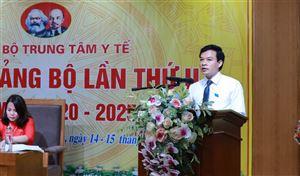 Đảng bộ Trung tâm Y tế huyện tổ chức Đại hội lần thứ II, nhiệm kỳ 2020 - 2025