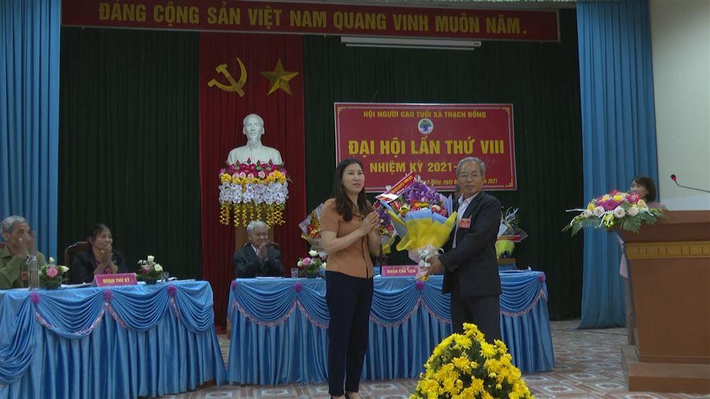 Đại hội điểm Hội Người cao tuổi xã Thạch Đồng huyện Thanh Thủy lần thứ VIII, nhiệm kỳ 2021-2026