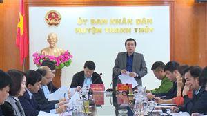 Huyện Thanh Thủy tổ chức họp trực tuyến triển khai nhiệm vụ tháng 12 năm 2020